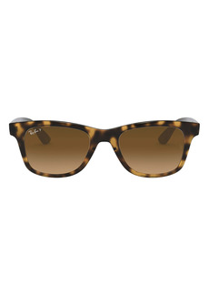 Ray-Ban Wayfarer Polarized 50mm Sunglasses