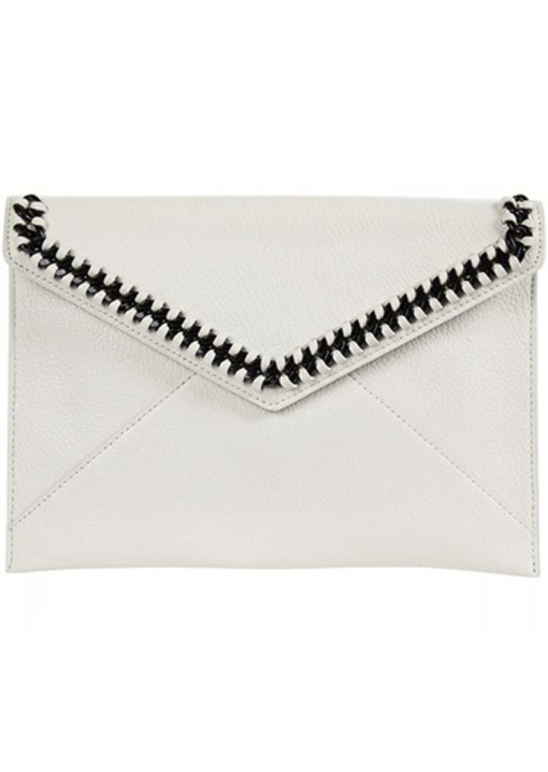 Rebecca Minkoff Leo Clutch with Chain Inset