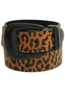 Rebecca Minkoff 35MM Leopard-Print Leather Belt