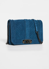 Rebecca Minkoff Chevron Quilted Small Love Crossbody Bag