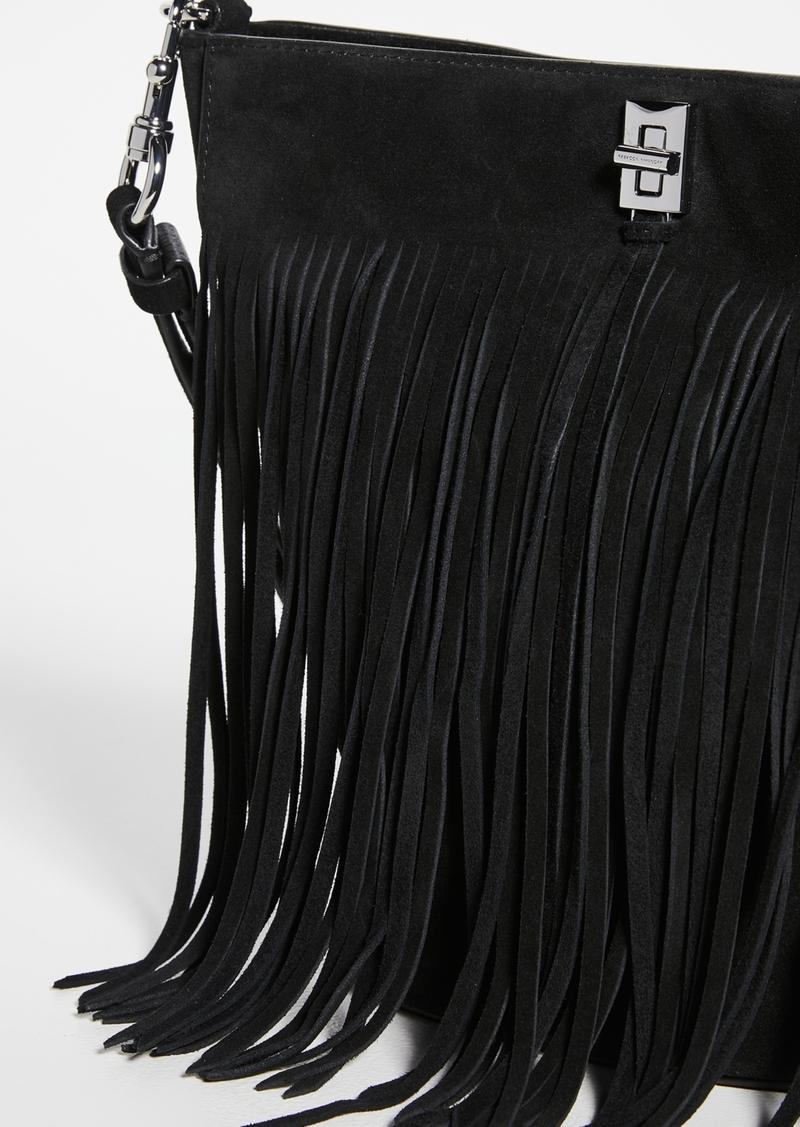 Rebecca Minkoff Darren Bucket Bag with Fringe