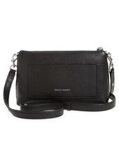 Rebecca Minkoff Darren Top Zip Leather Crossbody Bag