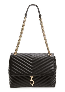 Rebecca Minkoff Edie Quilted Leather Shoulder Bag