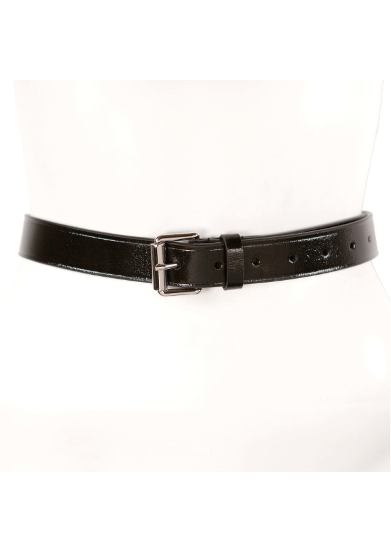 Rebecca Minkoff Embossed Edge Leather Belt