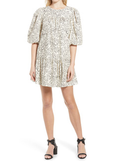 Rebecca Minkoff Felicity Floral Cotton Babydoll Dress
