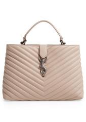 Rebecca Minkoff Large Edie Leather Top Handle Satchel