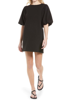 Rebecca Minkoff Mina Elbow Puff Sleeve French Terry Dress