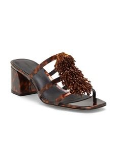 Rebecca Minkoff Raygan Beaded Slide Sandal (Women)