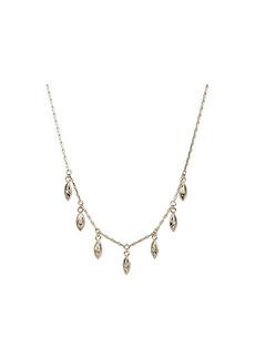 Rebecca Minkoff Stone Drop Collar Necklace