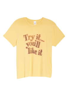 Re/Done '70s Loose Try It Graphic Tee