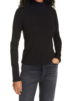 Re/Done Mock Neck Top
