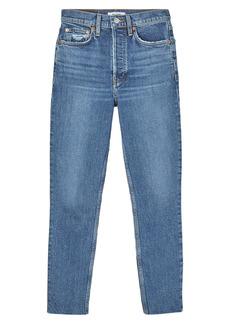 Re/Done Originals High Waist Crop Jeans (Mid 70s)
