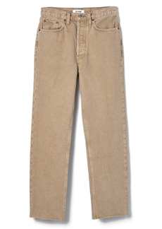 Re/Done Originals High Waist Stove Pipe Jeans