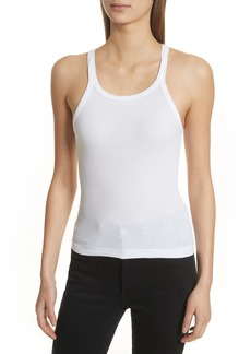 Re/Done Ribbed Tank Top