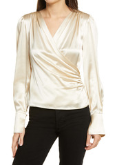 Reformation Fawn Silk Blouse