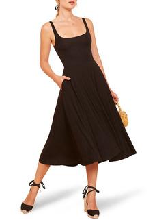 Women's Reformation Rou Midi Fit & Flare Dress