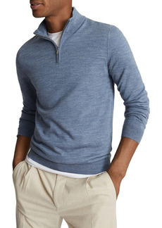 Reiss Blackhall Quarter Zip Sweater