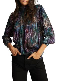 Reiss Darcey Silk Blend Top