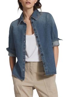 Reiss Denim Button-Up Shirt