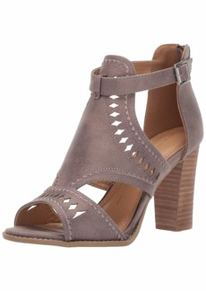 Report Women's ROSELET Heeled Sandal grey  M US