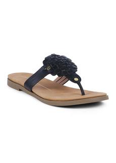 Report Woven Flip Flop