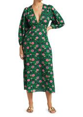 Rhode Camilla Printed Midi Dress