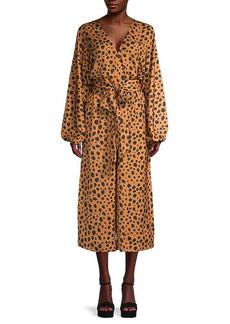 Rhode Cheetah-Print Jumpsuit