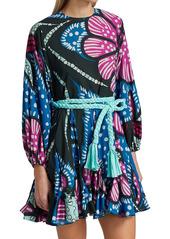 Rhode Ella Floral Mini Dress