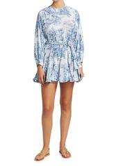 Rhode Ella Printed Belted Dress