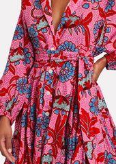 Rhode Emma Printed Poplin Mini Dress