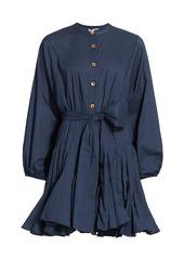 Rhode Emma Tie-Waist Flared Dress