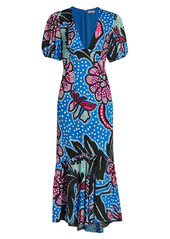 Rhode Ester Printed Midi Dress