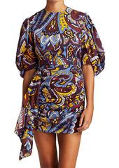 Rhode Pia Paisley Mini Dress