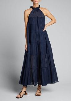 Rhode Julia Cotton Maxi Dress