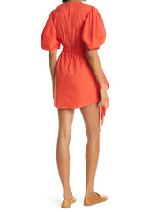 RHODE Pia Side Ruched Dress