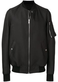 Rick Owens bomber jacket with rib collar
