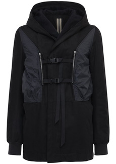 Rick Owens Drkshdw Constraint Cotton Twill Jacket