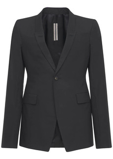Rick Owens Sharp Light Cotton Blazer