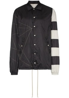 Rick Owens Striped windbreaker jacket