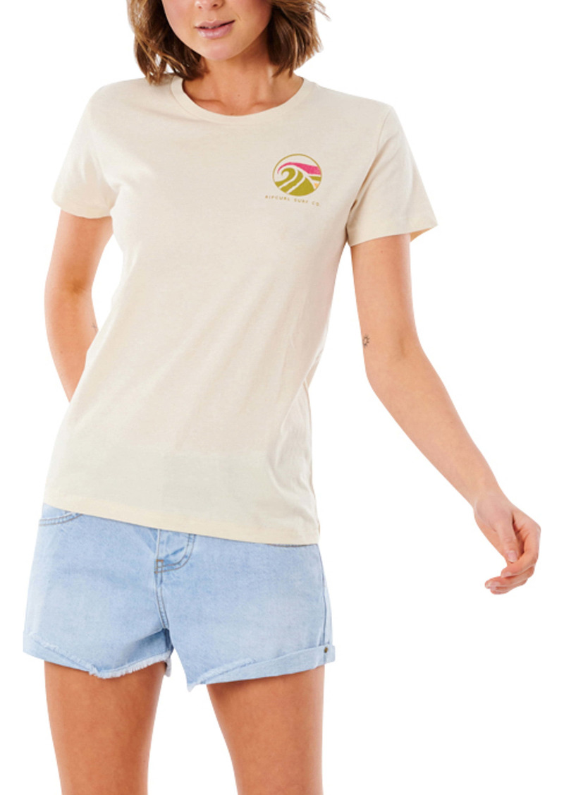 Rip Curl Ridin' the Vibes Graphic Tee