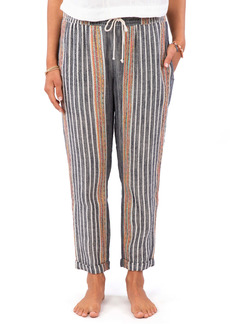 Rip Curl Baja Stripe Crop Pants