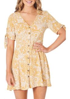 Rip Curl Golden Days Floral Minidress