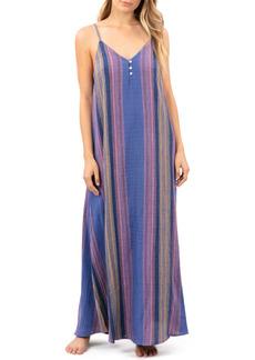 Rip Curl Golden Days Stripe Maxi Dress