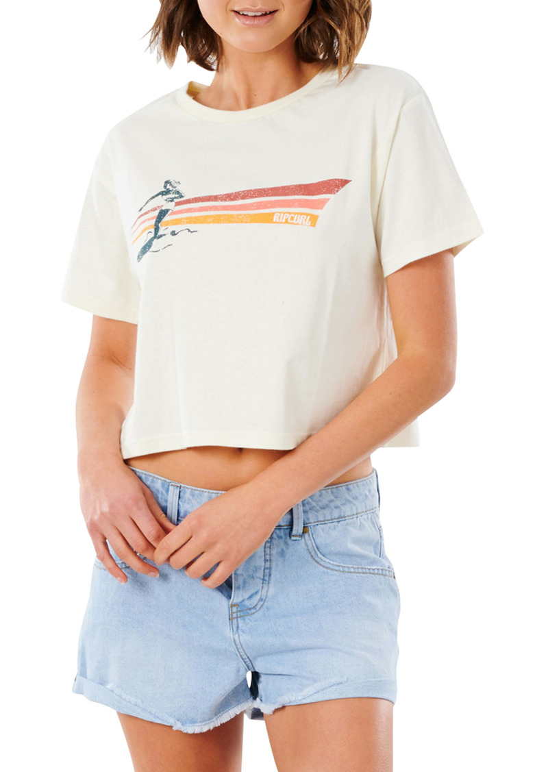 Rip Curl Golden State Crop Graphic Tee