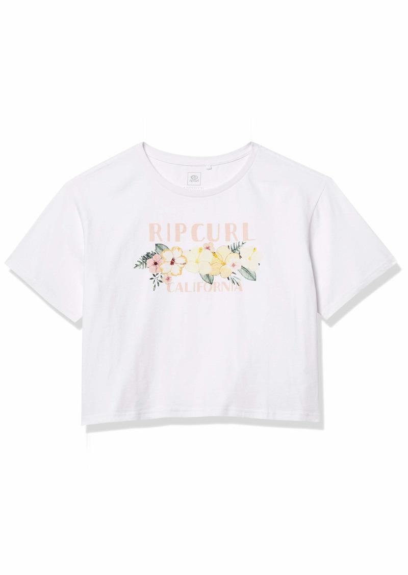 Rip Curl Junior's California Super Bloom Crop TEE Shirt