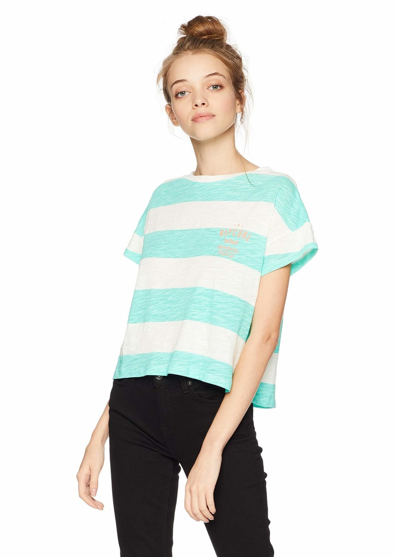 Rip Curl Junior's Frothing Boxy Tee  M