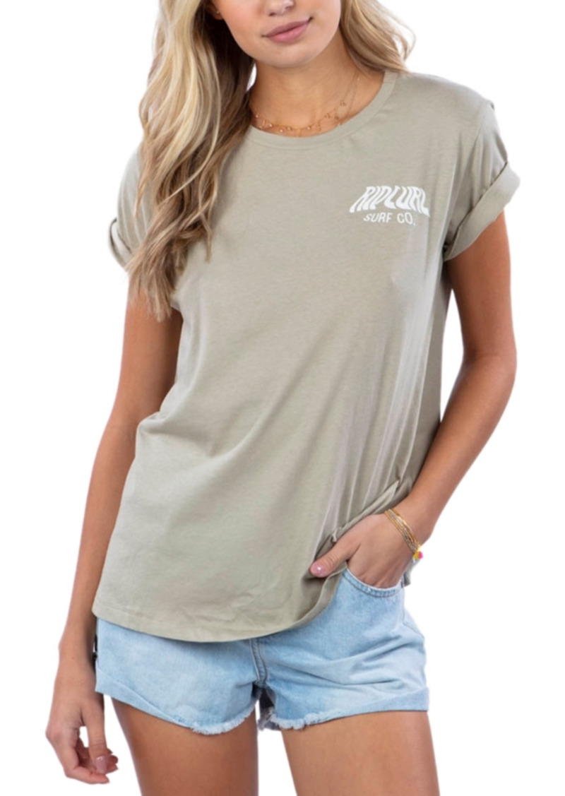Rip Curl Juniors' Sunset Cotton T-Shirt