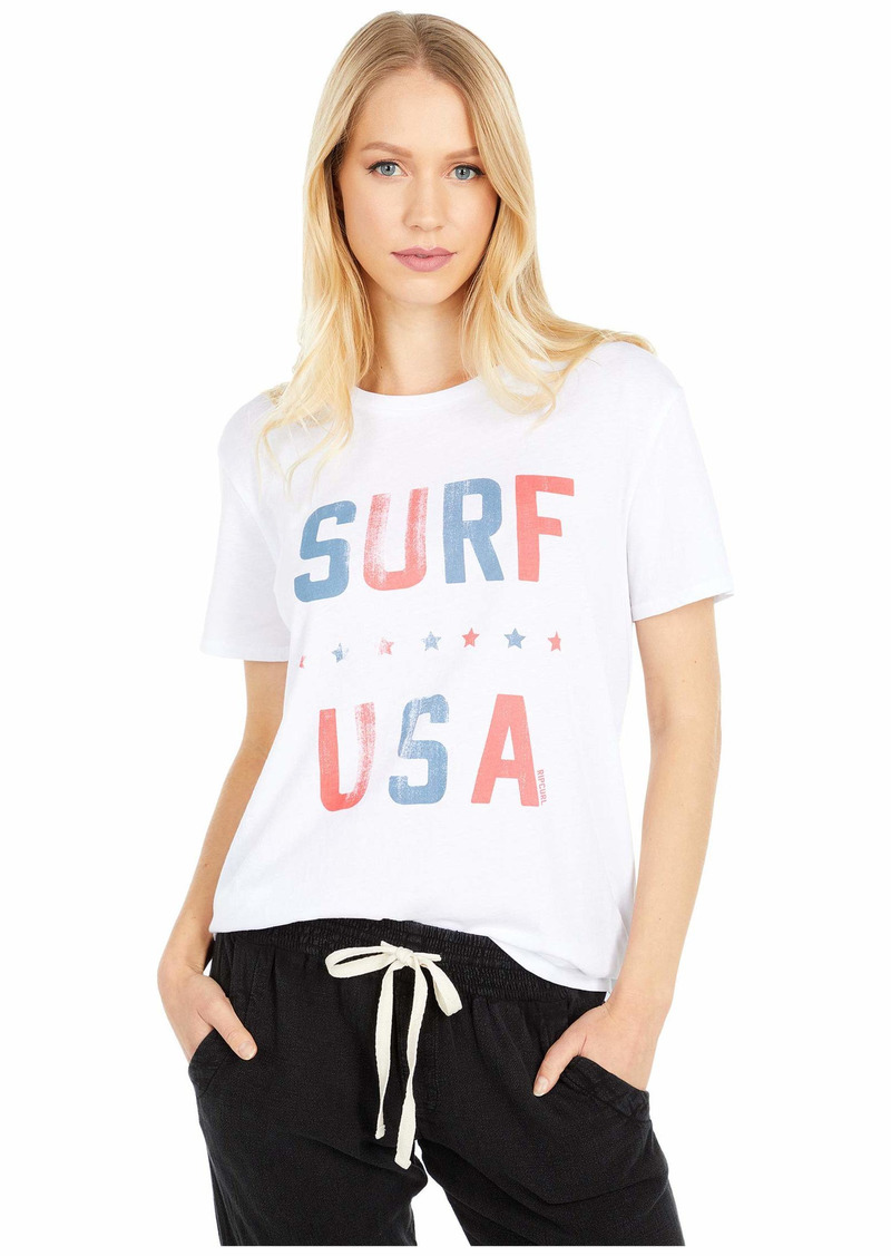 Rip Curl Junior's SURF USA BOY TEE Shirt