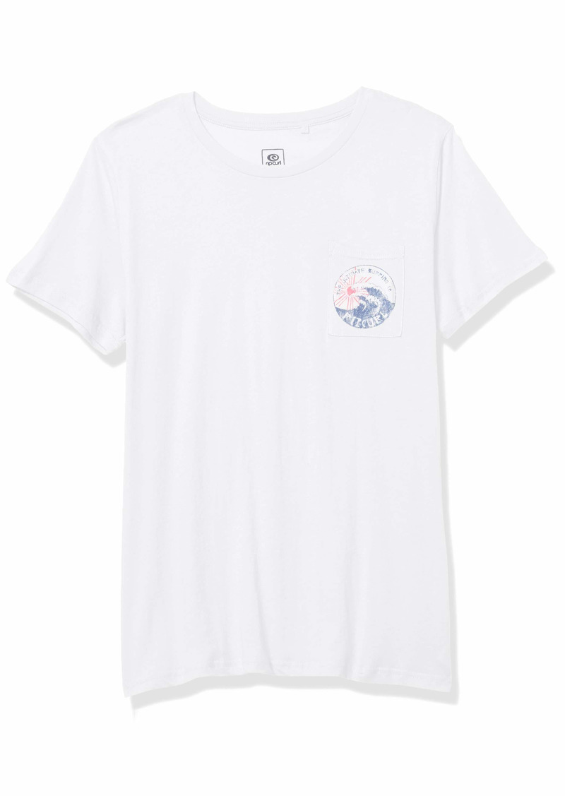 Rip Curl Junior's Tide Pocket TEE Shirt  L