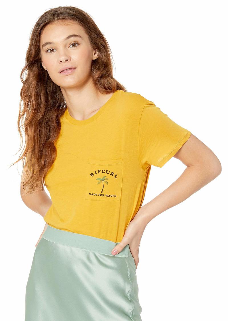 Rip Curl Junior's Wave Pocket TEE Shirt  L